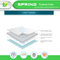 Breathable Durable and Easy to Wash Waterproof Quilted Crib Mattress Pad Cover with Organic Bamboo Baby Washcloths