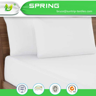 Queen Size Hypoallergenic Waterproof Mattress Protector Cover Comfortable Breathable Fabric Washable