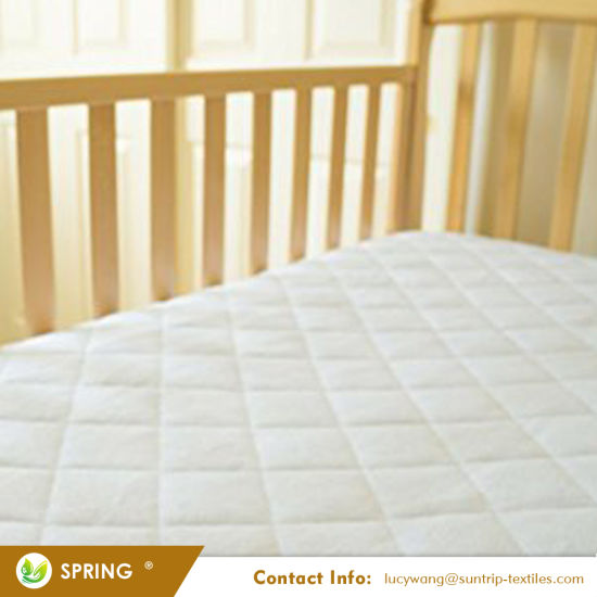 Waterproof Quilted Crib And Toddler Size Fitted Crib
