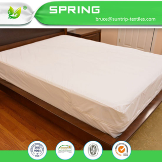 Mattress Encasements Zippered Waterproof, Dust Mite Proof, Bed Bug Breathable