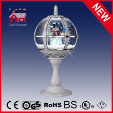 (LT30059H-SS11) Lovely Snowman Inside Decorative Tabletop Lamp with LED