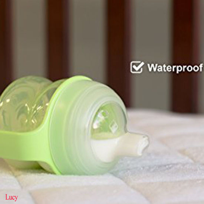 Best Selling Amazon Bamboo Fabric Sleep Well Thin Waterproof Baby Mattress Protector/Pad/Cover