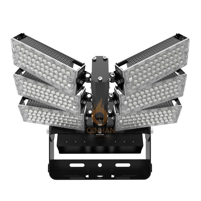 Outdoor Square Sport Court 600w Led