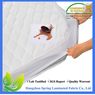 Fitted Quilted Queen Mattress Pad - Stretches up to 17inch Deep
