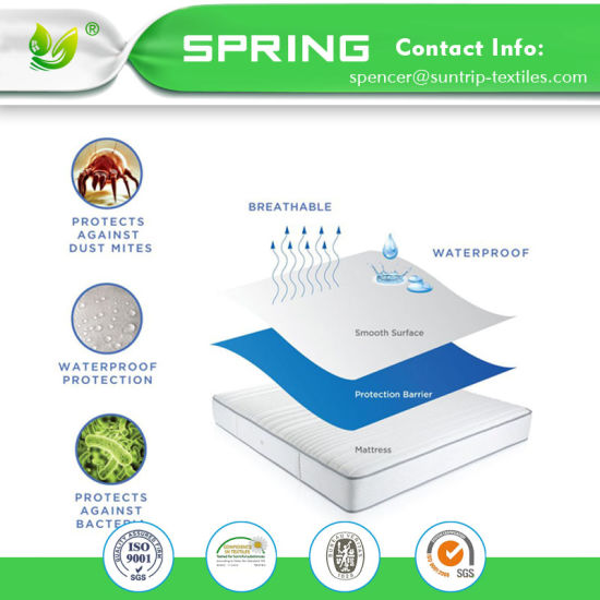 China Supplier Quilted Baby Mattress Protector