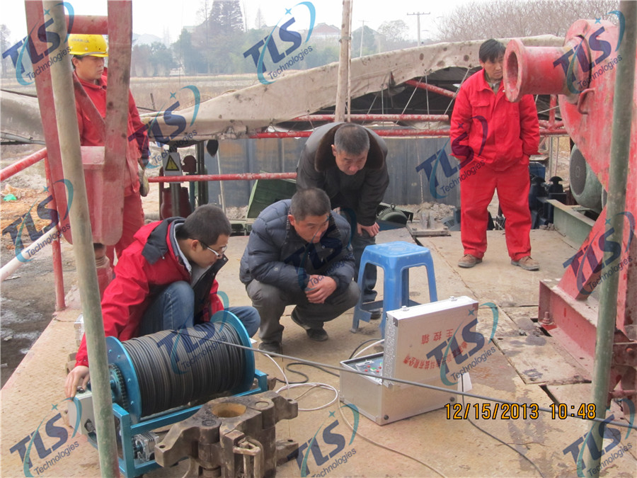 TLS Technologies Borehole Inspection Camera Application Case-Tongxiang Zhejiang logging field-02