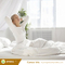 Full Breathable Hypoallergenic Vinyl Free 100% Waterproof Mattress Protector Fabric Mattress Protector