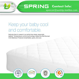 Machine Washable Noiseless Waterproof and Breathable Baby Mattress Cover Protector
