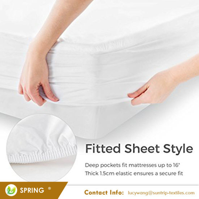 Premium Smooth Hypoallergenic Waterproof Mattress Protector