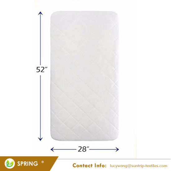 Ultra Soft Dryer Friendly Crib Mattress Protector Pad Waterproof Crib Mattress Cover
