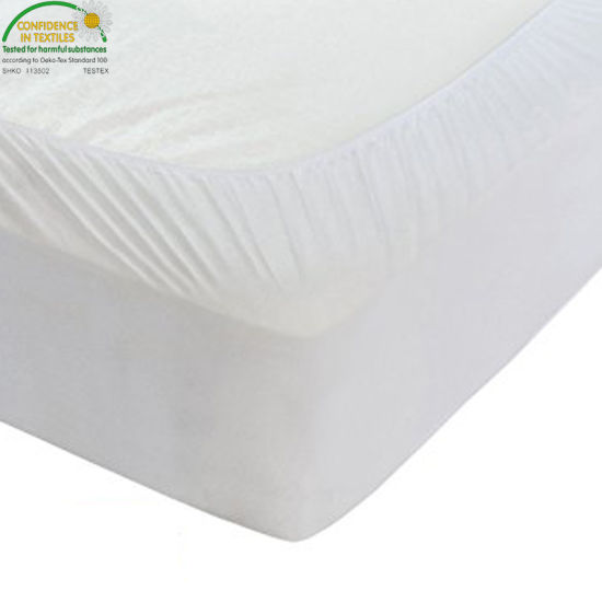 Luxurious Soft and Breathable Standard Sized Baby & Toddler Mattress Dryer Safe Bamboo Baby Mattress Protector