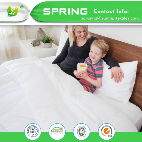 Premium Hypoallergenic Waterproof Mattress Protector - Vinyl Free - Fitted Mattress Cover