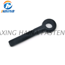 DIN444 Grade 8.8 Black Zinc Eye Bolt