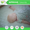 Super Soft Rayon From Bamboo Jersey Dust Mite Protection Waterproof Baby Mattress Protector with Organic Bamboo Baby Washcloths