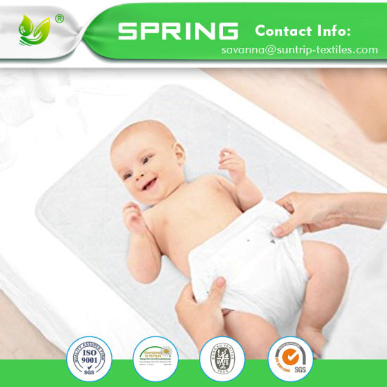 Bamboo Quilted Waterproof Changing Pad Liners for Babies 3 Count