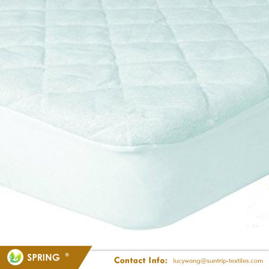Ultra Soft Waterproof Mattress Cover Fitted Quilted Mattress Protector Pad Cover