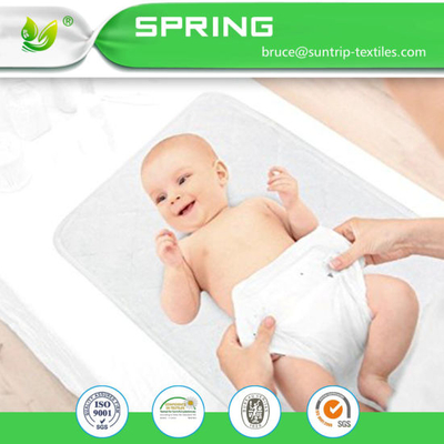 Organic Cotton Waterproof and Absorbent Baby Changing Pad