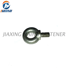 Carbon Steel 4.8Grade Zinc Plated DIN580 Forged Shoulder Eye Bolt