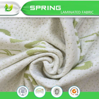 Aloe Vera Jacquard Knitted Mattress Fabric for Mattress Topper Cover