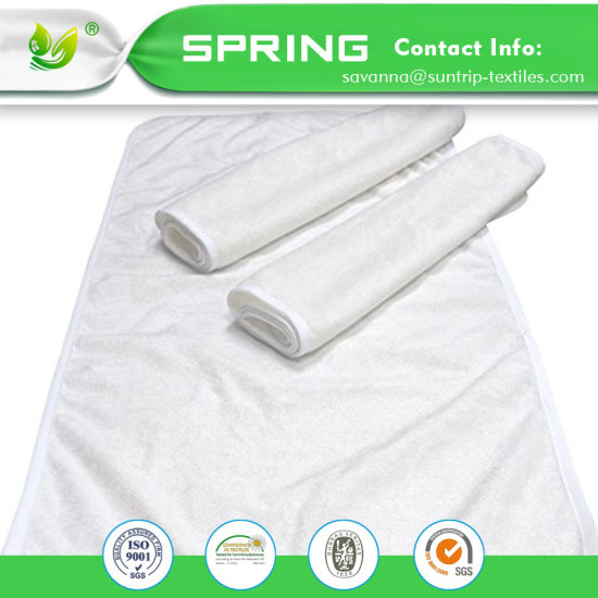 Organic Cotton Waterproof Fitted Crib Baby Changing Pad