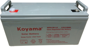New 12V 120Ah Solar Gel Battery