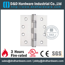 DDSS001-Stainless Steel 304 Two Ball Bearing Hinge for Wooden Fire rated Door with UL Listed