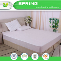 Queen Size Mattress Protector Micro Percale, Water Proof 100% Cotton Mattress Protector