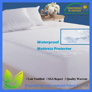 Best Quality Bamboo Quilted Waterproof Mattress Pad