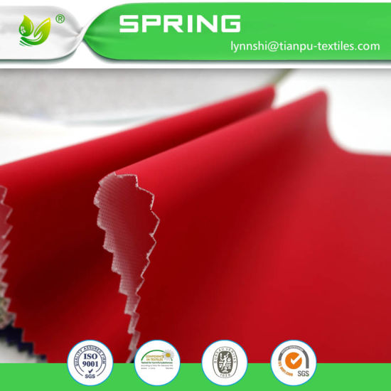 115GSM 100%Polyester knitting PU Coated Stretch Fabric