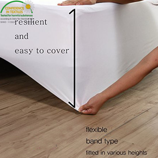 Breathable Fabric and Soft to The Touch Great Fit for Your Mattress Queen Waterproof Mattress Protector