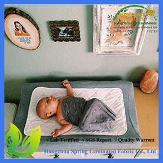 Amazon 3 Pack Anti-slip Baby Products Bamboo Anti-allergenic Baby Changing Pad Liners
