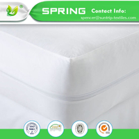 Hangzhou Textile Waterproof Mattress Encasement Cover Zipper