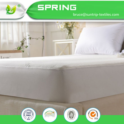 King Size Ultra Soft Fitted Waterproof Bamboo&Cotton Blend Terry Cloth Mattress Protector