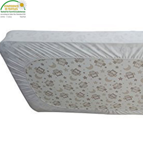 Quilted Ultra Soft White Bamboo Terry Fitted Sheet Styles Vinyl Free Waterproof Crib Mattress Pad Cover