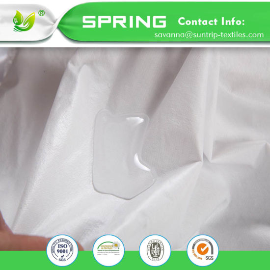 Premium Hypoallergenic Waterproof Mattress Protector Vinyl Free Fitted Cover