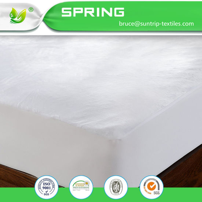 Super Soft Bed Pad Cover Mattress Protector Dust Waterproof Queen Size