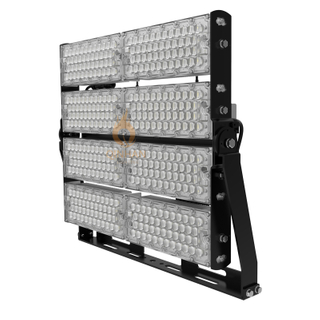 160LM/W 800W High Power Led High Mast Baseball Court Harbor Flood Light