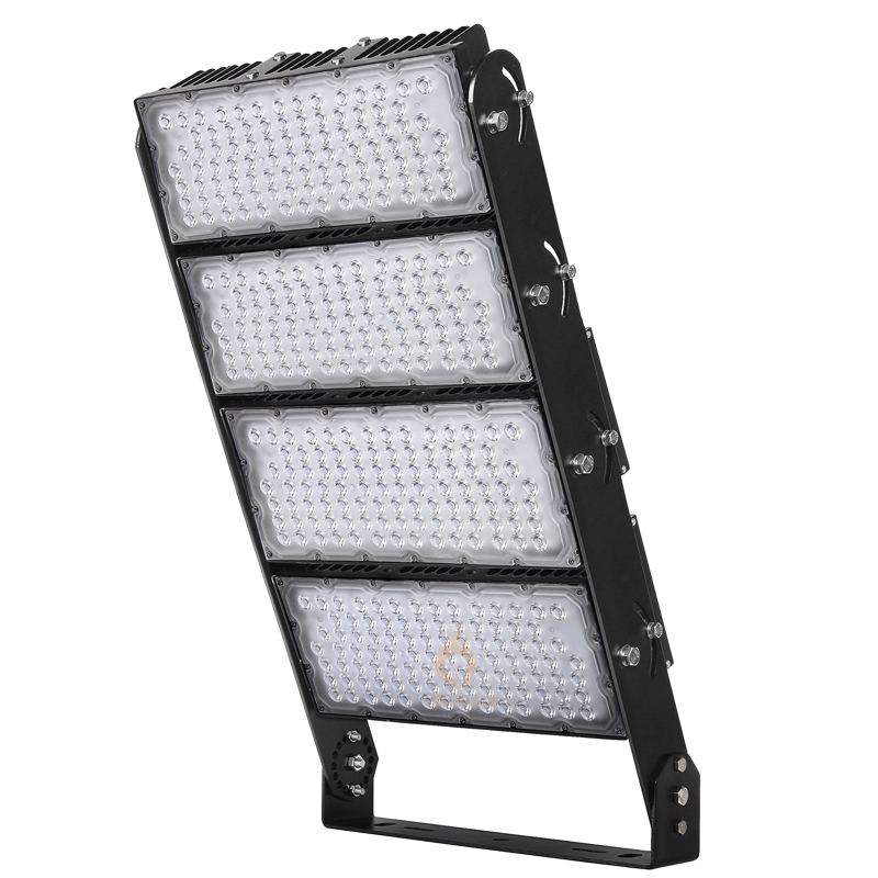 IP66 1200W High Power Led Stadium Light with Mounting Bracket
