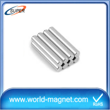 Wholesale Rare Earth Customized Ni-Cu-Ni Cylinder Magnet