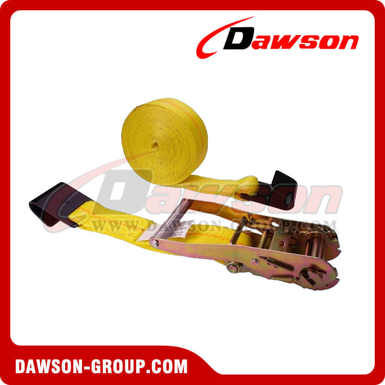 2'' x 27' Ratchet Strap with Flat Hook- china manufacturer supplier - Dawson Group
