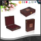PU Leather Quality Tea Gift Packing antique wooden boxes