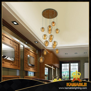 Restaurant classical design lantern LED pendant light (MIC15387 - 2 - 16P)