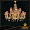 Brass with crystal Classical pendant chandelier(WD06150-12+6)
