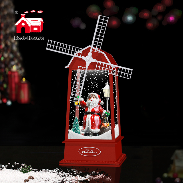 Decorative Lamps with Fans Christmas Music & Lighting and Santa Clause as Presents for Guys
