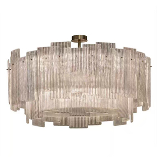 Hotel Decoration glass ceiling lights (KP06311)