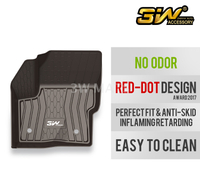 TPE car mat for Lincoln MKC