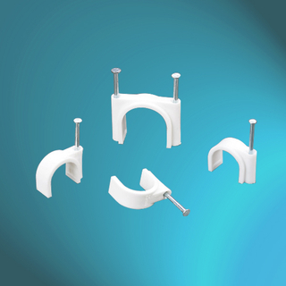PE Cable Clips-Round Type