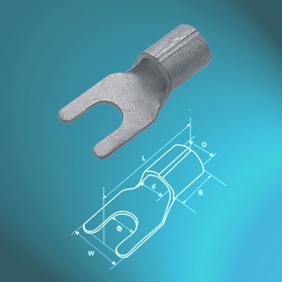 Un-insulated Fork Terminals-UL approved