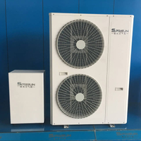 High Efficiency 8KW-31KW EVI Air to Water Split Heat Pump System