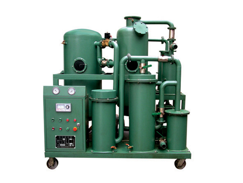 Series ZYB-A PLC control fully automatic insulating oil regeneration system